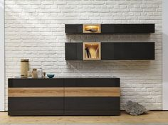 Lacquered wooden sideboard Neo Collection by Hülsta-Werke Hüls