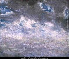 Cloud Study, 1821 2 - John Constable - www.john-constable.org