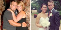Couple Loses A Combined 133 Pounds To Look Fantastic On Their Wedding Day (Photos)