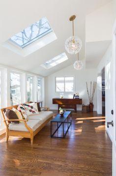 Rustic Sunroom, Small Sunroom, Modern Outdoor Kitchen, Modern Farmhouse Kitchens, Outdoor Living, Sunroom Kits, Sunroom Ideas, Screened Porch Designs, Sunroom Addition
