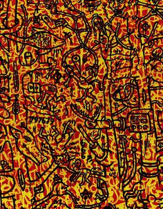 Keith Haring - The Last Rainforest.