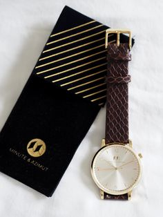 A gorgeous new watch by Minute & Azimut. This brand new range of watches is available now by donating to the brands Kickstarter. See the watches close up. Mesh, Watches, Accessories, Style, Fashion, Swag, Moda, Wristwatches, Fashion Styles