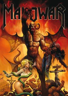 KEN KELLY - Hell on Earth V by ManOwar - 2010 Magic Circle Music