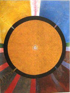 Hilma af Klint - Grupp X, nr. 3, Altarbild, 1915. HAK 189. Kat 119. 237,5 x 178,5 cm