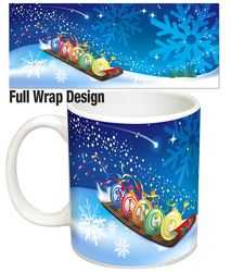 Wish Your Loved Ones a Very Merry Christmas with the Sleighing Bingo Balls Winning Mug Design. Christmas Bingo, Very Merry Christmas, Xmas, Mug Designs, Balls, First Love, Tableware, Gifts, Merry Little Christmas