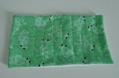 Fabric Marble Maze  Frog Patterned Flannel by EmmisOwls on Etsy, $6.00