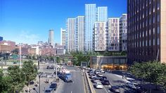 Behold the Step-Like Stagger of Proposed Seaport Square Trio