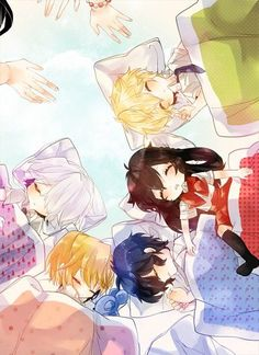 Break, Vincent, Gil, Alice et Oz, Pandora hearts
