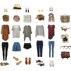 Spring/summer outfit formulas. I studied this at length like the style nerd I am. Cute pieces! find more women fashion ideas on www.misspool.com