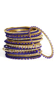 Mix Media Bangles (Set of 24)