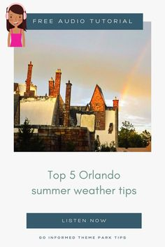 Pro tips for how to beat the heat and rain on your Orlando theme park vacation, from Maven at Go Informed. Be prepared for your summer vacation at Disney World and Universal Orlando. Listen at GoInformed.net/28 Disney World Packing, Disney World Tickets, Disney World Florida, Walt Disney World Vacations, Florida Vacation, Florida Travel, Best Vacations, Universal Studios Florida, Universal Orlando