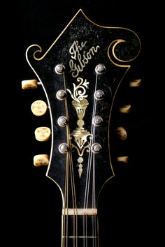 Norman's Rare Guitars :: Mandolins :: Gibson 1917 F-4 Mandolin Inlaid Tuners