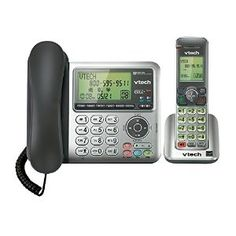 Vtech Corded/Cordless Connect to Cell Phone Answering System with Caller ID
