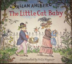 Fritz Wegner Allan Ahlberg Cat Baby