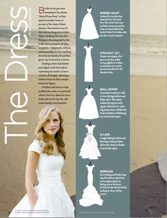 Modest wedding dress shapes and styles
