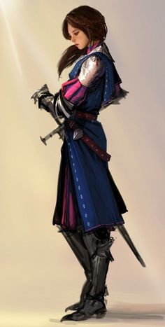 Ideas for fantasy art women warriors rpg Fantasy Girl, Fantasy Art Women, Fantasy Warrior, Fantasy Princess, Fantasy Sword, Steampunk Characters, Dnd Characters, Fantasy Characters, Female Characters