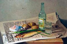 Мазур Николай. Московская (700x463, 64Kb) Russian Blue, Russian Art, Panda Art, Beer Pictures, Drunk In Love, Soviet Art, Food Painting, Retro Recipes, Art Studies
