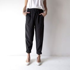 HDH Basics: Easy Tapered Pant – Hackwith Design House