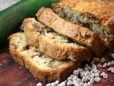 Cinnamon Burst Sour Cream Zucchini Bread