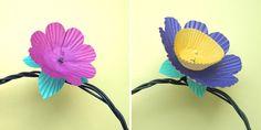 Tre formene på lyslenken, vips så har du en lekker lyslenke :)