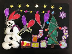 Lacey, aged 9 #Crafting #Christmas #ChristmasCrafts #LancsFostering
