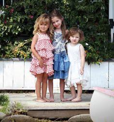 From Isobella & Chloe's #ss17 Casual Knitwear #kidscollection.  #girlswear #kidswear #isobellaandchloe www.isobellaandchloe.com