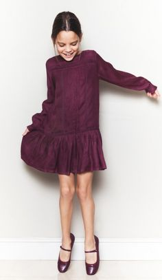 Party style for girls, this dress is from Bonnet a Pompon. Party collection