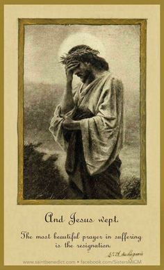 Holiday Party Discover And Jesus wept! Find great deals on GearBubble for the best Jesus Quotes Images Catholic Quotes Catholic Prayers Catholic Art Religious Art Roman Catholic Pictures Of Jesus Christ Religious Pictures Jesus E Maria Vintage Holy Cards