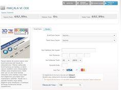 Hizlial.com'un Parçalı Ödeme adını taşıyan hizmetiyle ürünün tutarı birden fazla kredi kartıyla ödenebiliyor