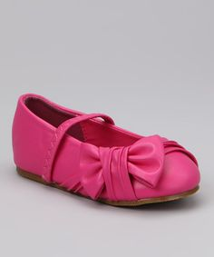 Take a look at this Fuchsia Happy 8 Flat I bought at zulily today!