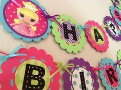 Lalaloopsy Birthday banner