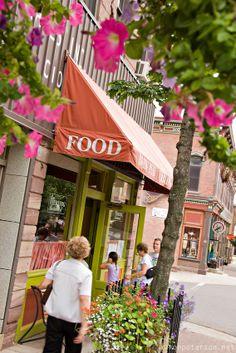 The Vierling Restaurant in Marquette, Michigan.