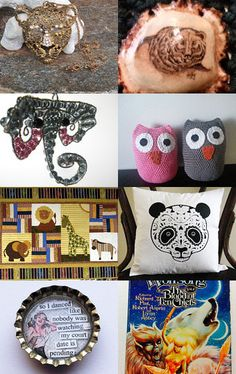 On The Wild Side With TEMPT Team by Randy and Lynn on Etsy--Pinned with TreasuryPin.com