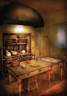 Granny's Stove | You Can Almost Smell Those Cookies And Pie On The Table | Photo By Mike Savad |