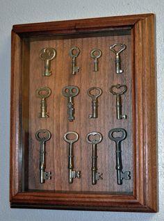 Skeleton Key Shadow Box