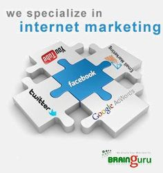 #Brainguru being a leading IT company provides a huge number of services that are in demand from such companies. Attaining an expertise in #Design,#Development, Testing, Maintenance, #SEO and Internet/Digital Marketing with the outstanding efforts of highly skilled teams engaged in the enhancement of these services. http://brainguru.in/services/internet-marketing-services-india.html
