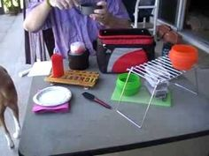 Mini-compact Camp Kitchen or Chuck Box - YouTube