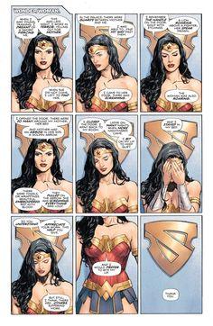 Drawing Dc Comics Heroes in Crisis Issue Dc Comics Art, Comics Girls, Dc Universe, Optical Illusion Photos, Super Heroine, Chica Fantasy, Univers Dc, Wonder Woman Comic, Dc Memes