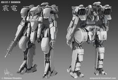 Image result for mech feet