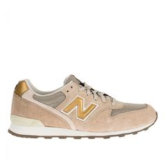 Style - Minimal + Classic: New Balance Beige-Gold