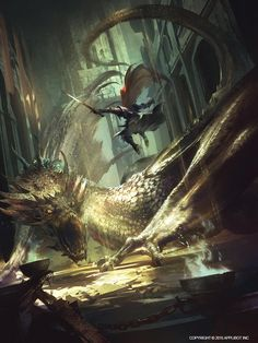 dragon 1 by marat ars Spectrum The Best in Contemporary Fantastic Art Dragon Medieval, Medieval Fantasy, Fantasy Artwork, Dragon Artwork, Art Watch, Art Et Illustration, Fantasy Dragon, Fantasy Landscape, Fantastic Art