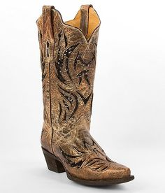 Corral Amarillo Cowboy Boot  http://www.cowgirlclad.com #cowgirlclad #niceboots