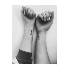 15 Friendship Tattoos That Arent Totally Cheesy via Brit Co