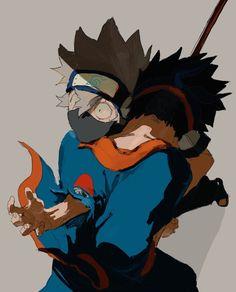 Kakashi And Obito, Naruto Cute, Naruto Shippuden Sasuke, Madara Uchiha, Anime Naruto, Manga Anime, Blue Exorcist, Blade Runner, Inu Yasha
