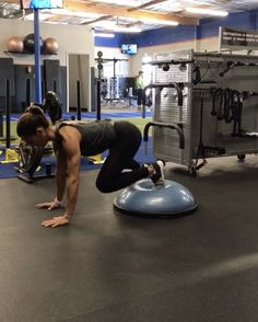 """14.4k Likes, 234 Comments - Alexia Clark (@alexia_clark) on Instagram: """"BOSU  40seconds of each with 20 seconds rest! Make sure you do both sides on 1, 2 and 4!  3-5…"""""""