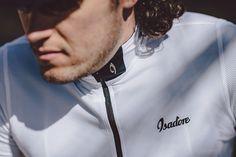 Isadore - Woolight Jersey Brigh White Men - Hot summer riding cycling jersey #isadoreapparel #roadisthewayoflife #cyclingmemories