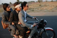 The Darjeeling Limited. Rich, funny, poignant.