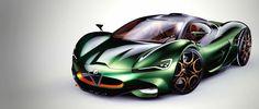 Alfa Romeo Furia Supercar Concept Pays Homage to History Alfa Romeo Logo, Alfa Romeo Cars, Carros Alfa Romeo, Supercars, Assurance Auto, Super Sport Cars, Future Car, Amazing Cars, Car Pictures