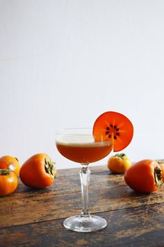 Bourbon Persimmon Amaretto Sour — Drinking with Chickens Cocktail Desserts, Fall Cocktails, Fall Drinks, Fruit Drinks, Cocktail Recipes, Beverages, Bourbon Cocktails, Bourbon Sour, Amaretto Sour