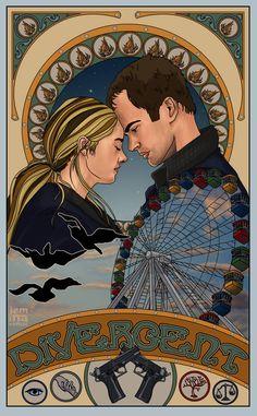 Divergent insurgent allegiant, divergent four, divergent fan art, divergent Divergent Poster, Divergent Fan Art, Divergent Four, Tris And Four, Divergent Fandom, Divergent Trilogy, Divergent Insurgent Allegiant, Tris E Tobias, Fanart